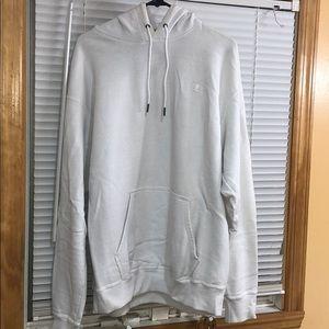 Mens Champion White Sweatshirt!
